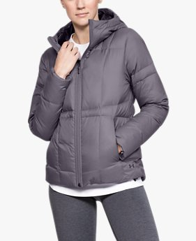 Women's UA Armour Down Hooded Jacket